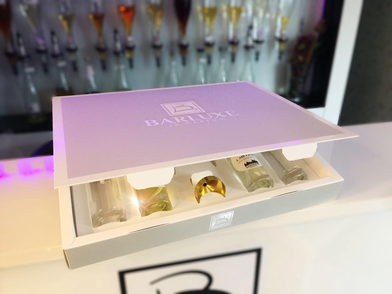 Barluxe Parfum Box Halboffen